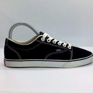 Women's Vans Canvas boat shoes